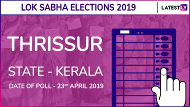 Thrissur Lok Sabha Constituency in Kerala Results 2019: Congress Candidate TN Prathapan Elected MP