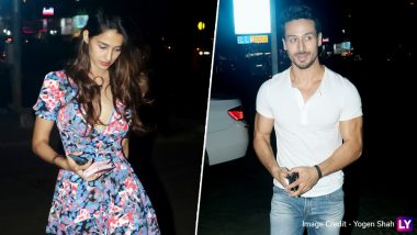 Tiger Shroff and Disha Patani Look Pleased as They Go On Their Usual Dinner Date-View Pics