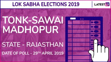 Tonk-Sawai Madhopur Lok Sabha Constituency in Rajasthan: Candidates, Current MP, Polling Date And Election Results 2019
