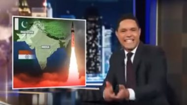 Trevor Noah, Host of 'The Daily Show', Slammed on Twitter For Saying 'India-Pakistan War Will be Most Entertaining'