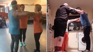 Triangle Dance Is the Latest Internet Challenge to Grip Social Media (Watch Videos)