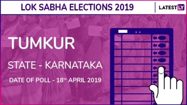 Tumkur Lok Sabha Constituency in Karnataka Live Results 2019: BJP Candidate GS Basavaraj Elected MP