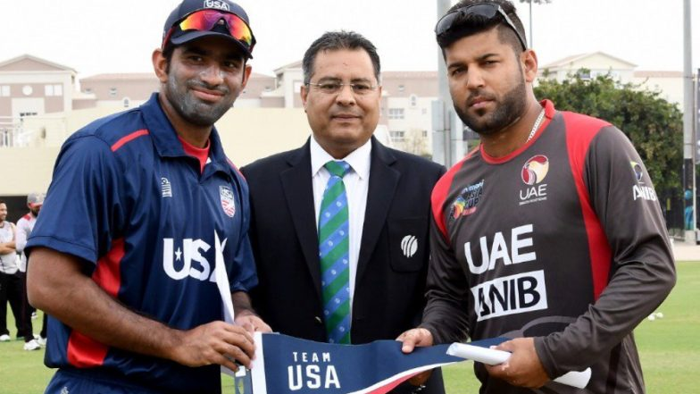 USA Cricket Team Makes T20I Debut, Here's Complete Schedule of United States of America Tour of UAE With Squads and Live Streaming Details