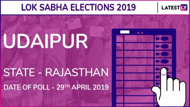 Udaipur Lok Sabha Constituency in Rajasthan: Candidates, Current MP, Polling Date And Election Results 2019