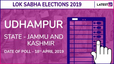Udhampur Lok Sabha Constituency in Jammu and Kashmir Live Results 2019: Leading Candidates From The Seat, 2014 Winning MP And More