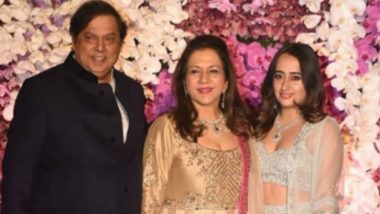 Akash Ambani-Shloka Mehta Post Wedding Bash: Natasha Dalal Makes Heads Turn As She Arrives With Varun Dhawan's Parents - See Pics