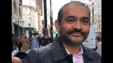 PNB Fraud Case: Nirav Modi to Appear Via Video Link for Remand Hearing in UK
