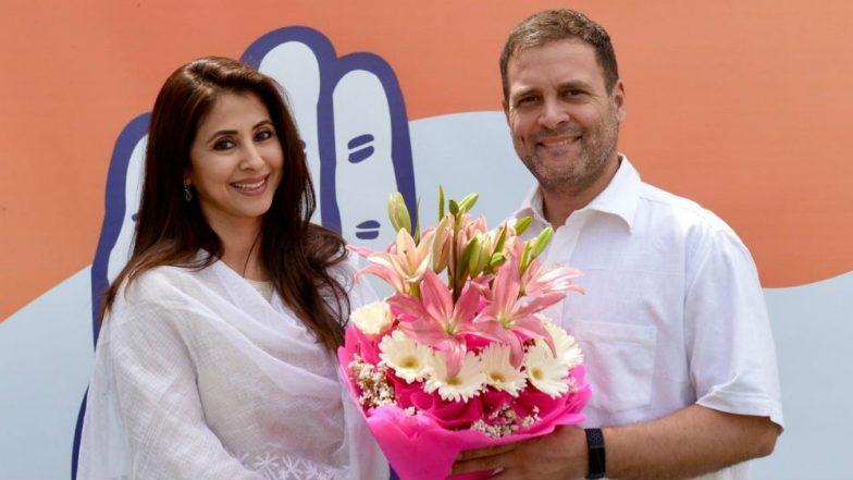 Urmila Matondkar, Who Joined Congress, to Contest Lok Sabha Election 2019 From Mumbai North Seat