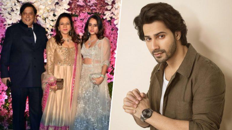 Akash Ambani-Shloka Mehta Reception: Varun Dhawan Has an EPIC Reaction to Girlfriend Natasha Dalal Attending the Bash With His Parents
