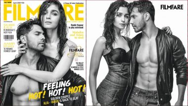 Varun Dhawan and Alia Bhatt Are Damn 'Colourful' on This Gorgeous Grey Cover! View Pic