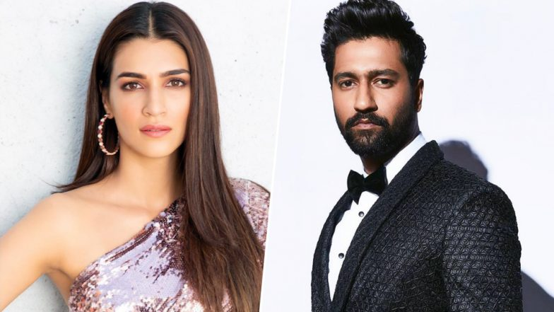 64th Vimal Filmfare Awards 2019: Vicky Kaushal and Kriti Sanon All Set to Rock the Dance Floor - Watch BTS Videos