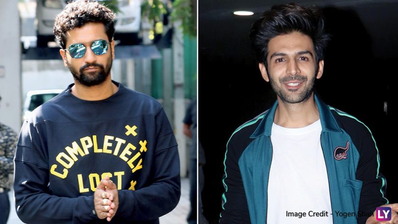 Zee Cine Awards 2019: Vicky Kaushal and Kartik Aaryan All Set to Entertain As the Show's Host, and Yeah, Their Josh Is High! (Watch Videos)