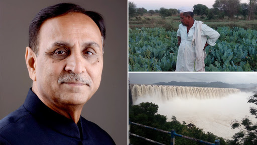 Vijay Rupani Blames Congress For Farmers Suicides in Saurashtra Region, Says 'Opposition Parched People to Death'