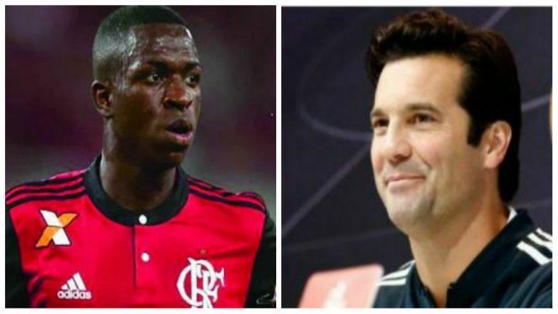 Real Madrid Coach Santiago Solari Praises Vinicius Junior Despite Lack of Goals