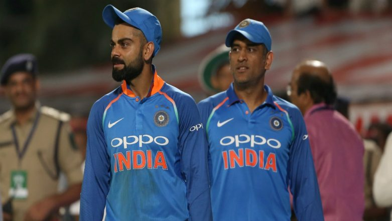 MS Dhoni, Virat Kohli Plan to Wear Camouflage 'Cap' For India vs Australia 3rd ODI to Pay Tribute to Indian Armed Forces