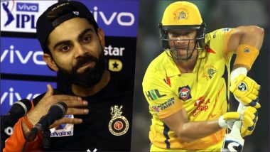 CSK vs RCB, IPL 2019 Opening Match: Virat Kohli to Shane Watson, 5 Players Who Can Make Up for No Opening Ceremony In VIVO IPL 12