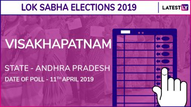 Visakhapatnam Lok Sabha Constituency in Andhra Pradesh Results 2019: M V V Satyanarayana of YSRCP Wins Parliamentary Election