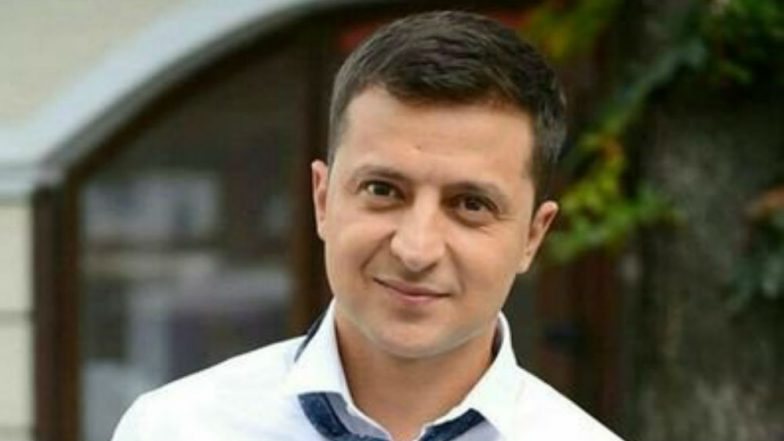 Ukraine Presidential Elections 2019: Comedian Volodymyr Zelensky Leads Opinion Polls Ahead of 1st Round of Voting