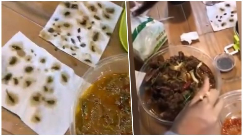 Chinese Woman Finds 40 Dead Cockroaches in Her Takeaway Meal, Watch Disgusting Video