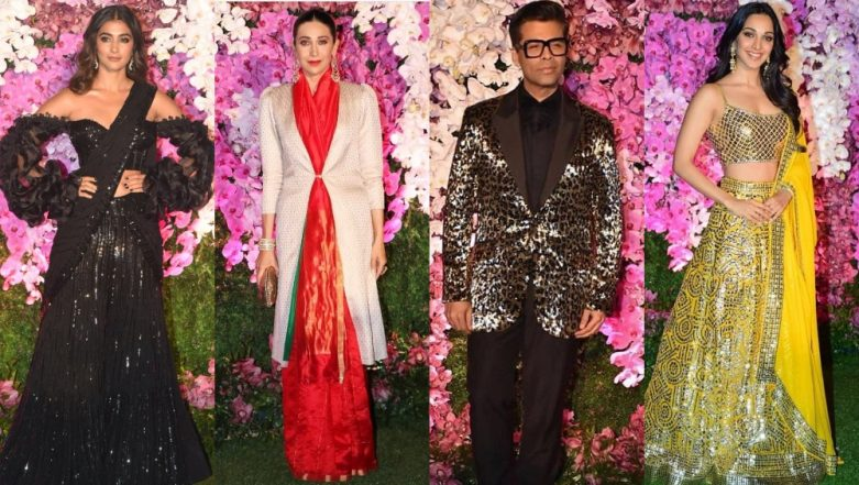 Kiara Advani, Karan Johar, Karisma Kapoor, Pooja Hegde - Meet The Celebrities Who Did Not Impress Us With Their Style At Akash Ambani And Shloka Mehta's Wedding Reception