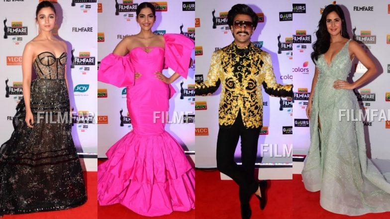 Alia Bhatt, Katrina Kaif, Sonam Kapoor, Ranveer Singh - Here Are All The Biggest Disappointing Fashion Stunts At The Filmfare 2019 Red Carpet!