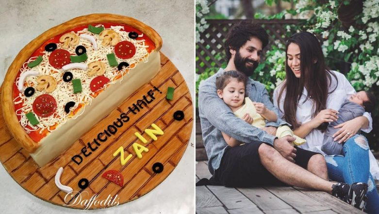 Shahid Kapoor-Mira Rajput Celebrate Son Zain's Half Birthday With a Pizza Cake – See Pics