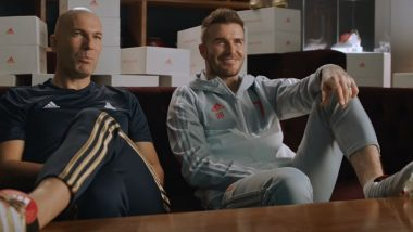 Zinedine Zidane and David Beckham Come Together in This Latest Adidas Ad With Their 'Iconic Shoes', Watch Video