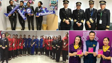 Happy Women's Day 2019: All-Women Crew, Goodies, Free Sanitary Pads for Passengers on Flights