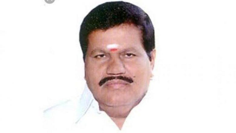AIADMK MLA From Sulur R Kanagaraj Dies of Massive Heart Attack in Sultanpet