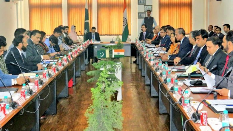 Kartarpur Sahib Corridor: India-Pakistan Meet Underway at Attari Border in Amritsar