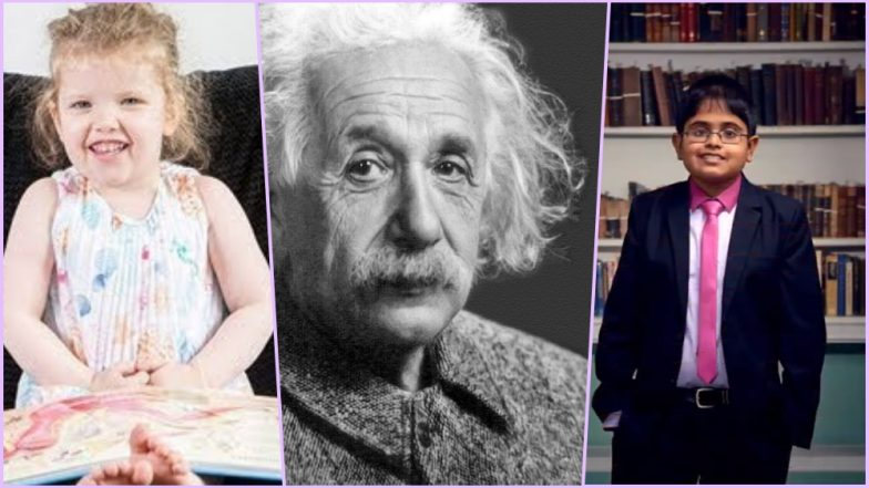 Happy Birthday Albert Einstein: 5 Kids With Higher IQ Than the Genius Physicist