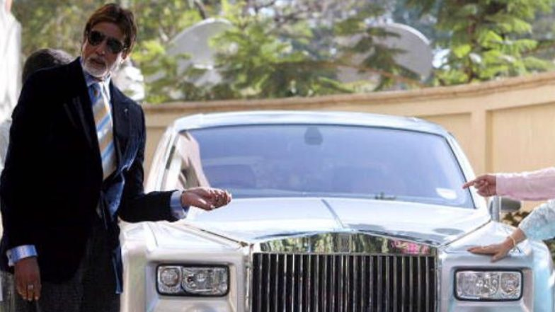 Amitabh Bachchan Sells the Rolls Royce Gifted to Him by Vidhu Vinod
