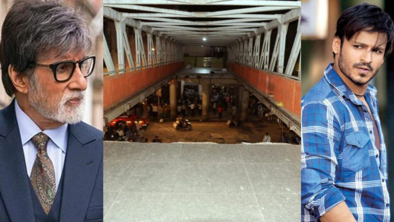 Mumbai Foot Over Bridge Collapse: Amitabh Bachchan, Vivek Oberoi, Riteish Deshmukh Condole the Victims – Read Tweets