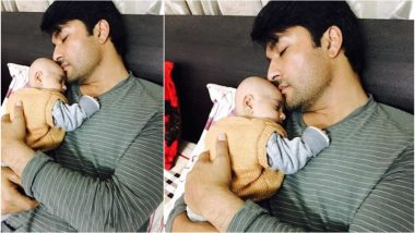 Anas Rashid's Pictures With His 1 Month Old Daughter Aayat Will Steal Your Hearts!