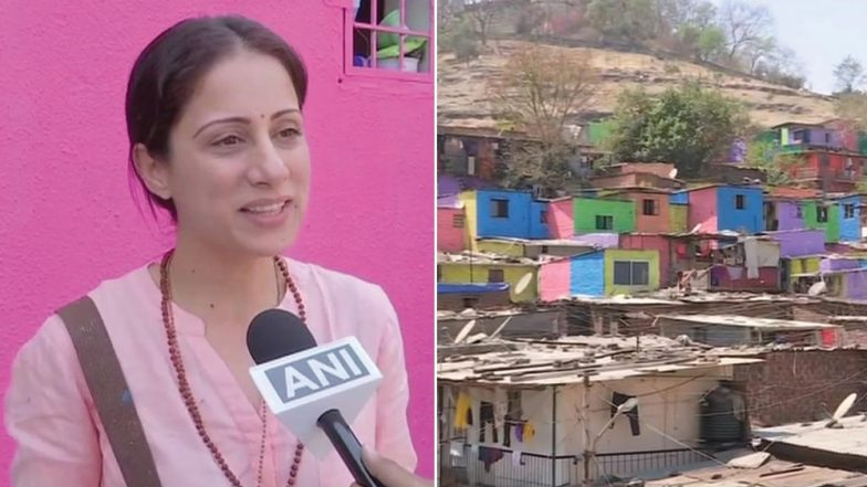 Mumbai-Based Artist Paints Slums in Pune to Change Mindset of People; See Pics