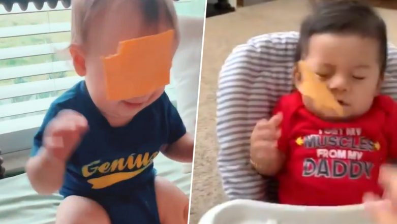 Cheesing Challenge Where Parents Throw Cheese Slices at Babies go Viral, But Twitter is Not Having It!