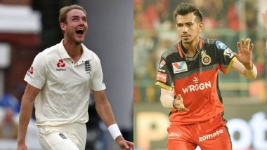 IPL 2019: Yuzvendra Chahal's Remark After Being Hit for Three Sixes by Yuvraj Singh Has Stuart Broad Quipping