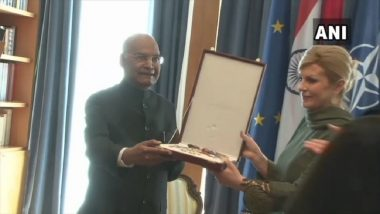 India, Croatia Agree on Global Anti-Terror Response, Says President Ram Nath Kovind