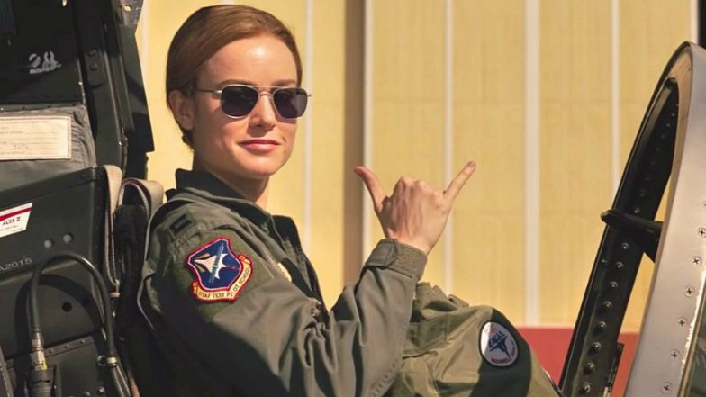 Captain Marvel Brie Larson Had 'Messy Ride' on F-16 Aircraft at Nellis Air Force Base & These Behind the Scenes Videos Show How & Why