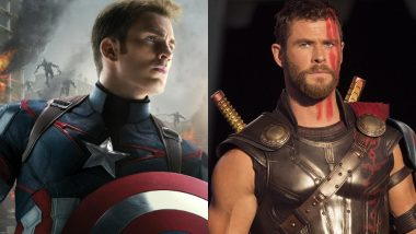 Chris Evans Seems Jealous of His Avengers Co-star Chris Hemsworth for THIS Reason – Watch Video
