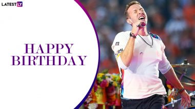 Chris Martin Birthday Special: 6 Best Live Performances By The Coldplay Frontman That Will 'Fix You' for The Weekend!