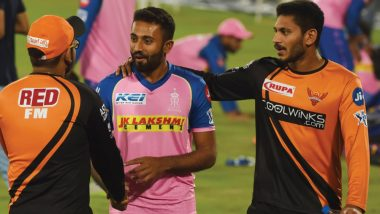 SRH vs RR, IPL 2019, Hyderabad Weather & Pitch Report: Here's How the Weather Will Behave for Indian Premier League 12's Match Between Sunrisers Hyderabad and Rajasthan Royals