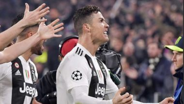 Cristiano Ronaldo's Hat-Trick Against Atletico Madrid Breaks All-Time Record; Sends Juventus In Quarter Finals of Champions League 2018-19 (Watch Video)