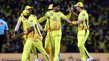 CSK vs RCB IPL 2019 Stat Highlights: Harbhajan Singh, Imran Tahir Shine as Chennai Super Kings Registers Convincing Win