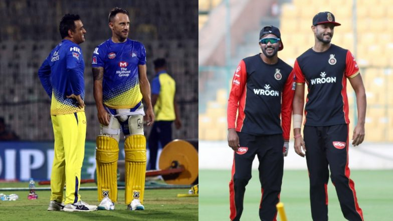 CSK vs RCB Toss Report and Playing XIs Live Update: MS Dhoni Wins Toss, Opts to Bowl First; Shimron Hetmyer Makes IPL Debut