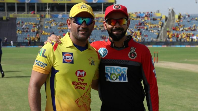 MS Dhoni & Virat Kohli Challenge Each Other Ahead of CSK vs RCB, IPL 2019 Opening Match; Chennai Super Kings has a Hilarious Reaction (Watch Video)