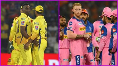 CSK vs RR Head-to-Head Record: Ahead of IPL 2019 Clash, Here Are Match Results of Last 5 Chennai Super Kings vs Rajasthan Royals Encounters!