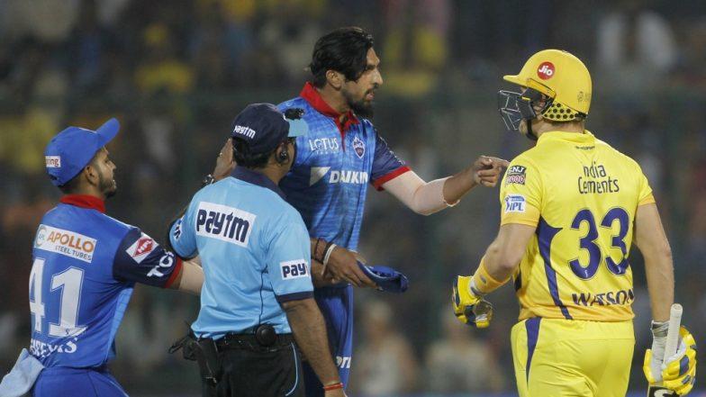 IPL 2019: Shane Watson and Kagiso Rabada Exchange Pleasantries After Heated Argument