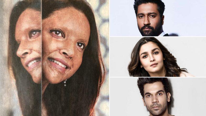 Deepika Padukone As Malti in Chhapaak: Vicky Kaushal, Alia Bhatt, Rajkummar Rao and Others Impressed With the Actress' Incredible Transformation!