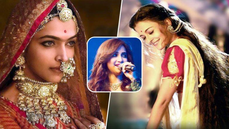 Shreya Ghoshal Birthday: Aishwarya Rai's Bairi Piya, Deepika Padukone's Ghoomar and Other Melodious Songs of the Singer That are Evergreen (Watch Videos)